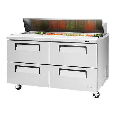 Turbo Air TST-60SD-D4  Sandwich / Salad Prep Four Drawer