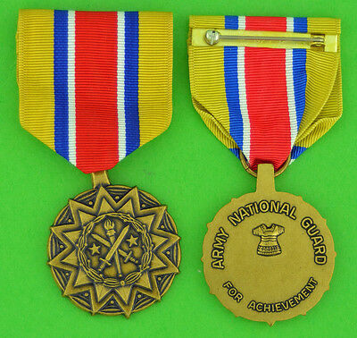 Army National Guard Achievement Medal - full size made in USA - USM066