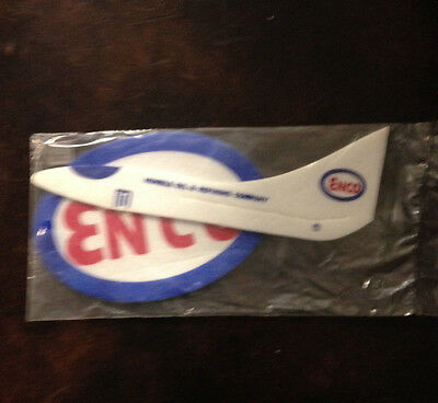 Vintage Humble Oil Enco Model Airplane Premium Sealed In Cello Bag