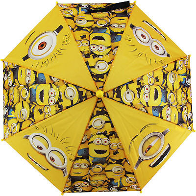 Minions Despicable Me  Molded Handle Umbrella for Kids