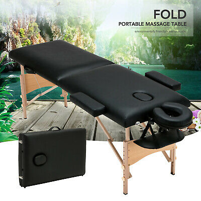 "84""L Foldable Portable Massage Table Facial SPA Beauty Bed Tattoo w/ Carry Case"