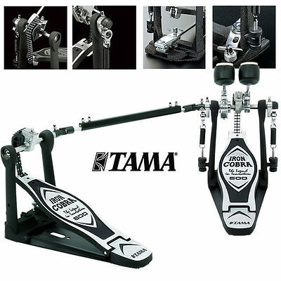 Tama HP600DTW Iron Cobra Duo Glide Double Bass Drum Pedal 600 Series