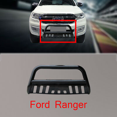FORD RANGER Nudge Bar 3'' Black  2012-2014 With Removable Skid Plate