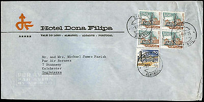 Portugal 1975 Commercial Airmail Cover To UK #C32499