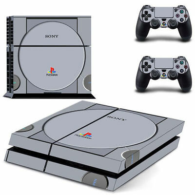 Vinyl Cover Decal Skin Sticker for Sony PS4 PlayStation Console & 2 Controller