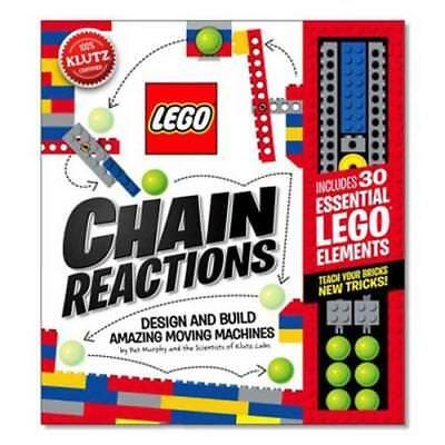 Lego Chain Reactions - Murphy, Pat/ Scientists Of Klutz Labs (Cor) - New Paperba