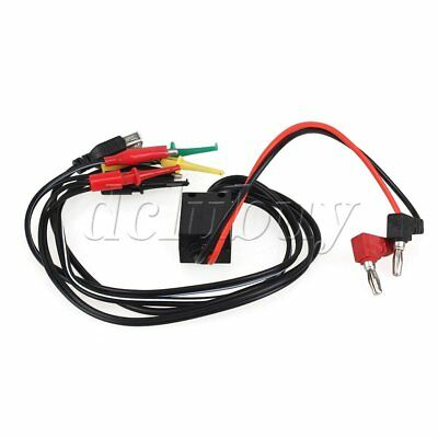 Multimeter Test USB Hook Probe Wire Banana Plug Clip DC Power Interface Cable
