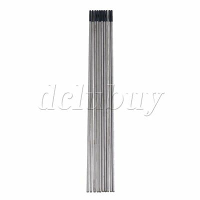 10pcs 2% Ceriated WT20 TIG Tungsten Electrode 1.6 x 150mm Gray Metalworking