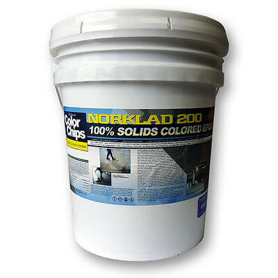 Norklad 200 - 100% Solids Epoxy - Garage Floor Paint (Choose Your Color)