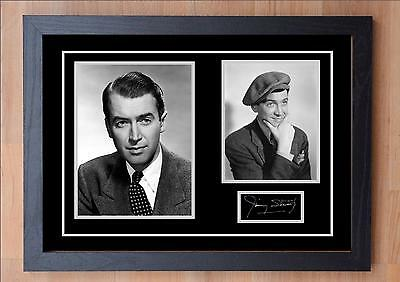 James / Jimmy Stewart Signed / Autographed And Framed Print
