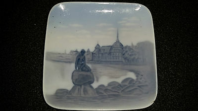 Ancien Vide Poche Cendrier Sirene Porcelaine Danois Royal Copenhague Danemark