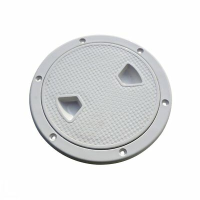"8"" Round Screw Out Deck Inspection Hatch Cover for Boat Kayak Boat Camping"