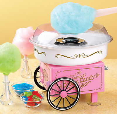 Nostalgia Vintage Collection Hard And Sugar-Free Cotton Candy Maker PCM305 New