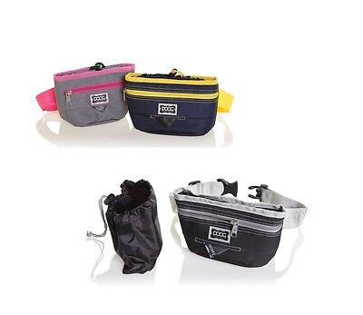 DOOG Treat Pouch for Dogs - washable inner - fit iPhone money keys