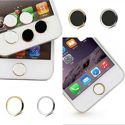 Aluminiummetall Home Button Sticker Abdeckung Hot For Apple iPhone 6s 6s Plus