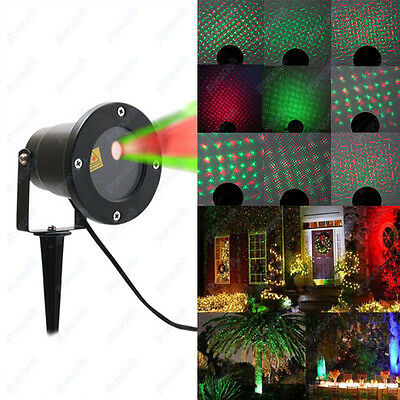 rgb gr n led laser projektor beleuchtung gartenlicht laserlicht au en outdoor eur 17 99. Black Bedroom Furniture Sets. Home Design Ideas