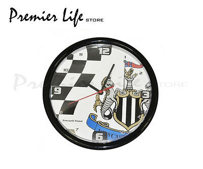 Newcastle United FC Wall Clock - Latest Chequered design
