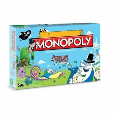 Adventure Time Monopoly Board Game - Brand New! Card Game Christmas Present