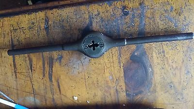 """Collectible Willey & Russell Die Button Wrench +guide for 1 1/2"""" split die"""