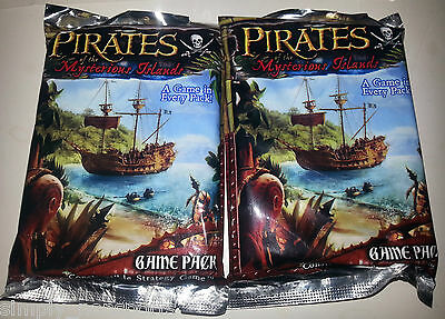 2-PACK LOT '06 Pirates of the Mysterious Islands POCKET MODEL GAMING/GAME CARD
