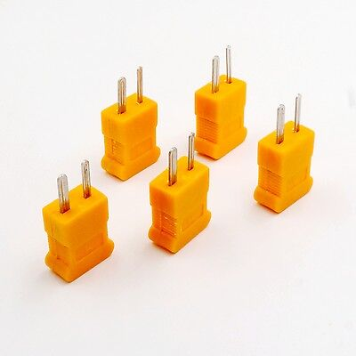 5 pcs K Type Male mini Connectors plug Thermocouple Temperature Sensors New