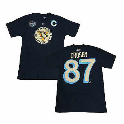 finest selection 2d71e 8ad84 NHL SIDNEY CROSBY Pittsburgh Penguins Winter Classic Ice Hockey Shirt Jersey