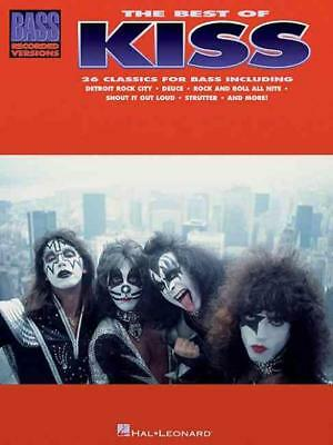 The Best Of Kiss For Bass Guitar - Kiss (Paperback) New