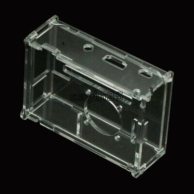 Raspberry Pi Transparent Clear Acrylic Case Shell Enclosure Computer Box kits