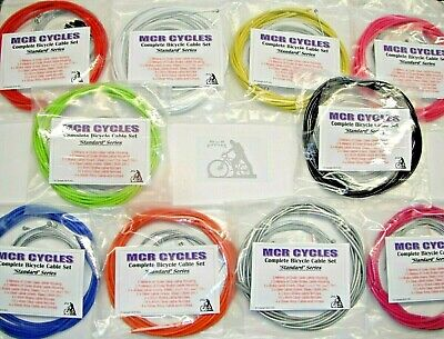Jagwire Full set of Bike Cables Brake + Gear, Front + Rear inner & outer.Bicycle