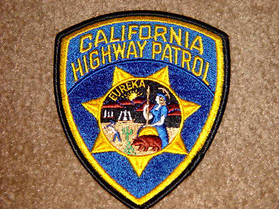 California Highway Patrol Police Patch New and Never Used