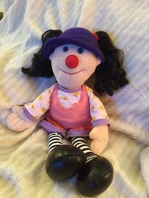 "Big Comfy Couch 20"" LOONETTE  PLUSH DOLL toy 1995 Commonwealth T.V. show vintage"