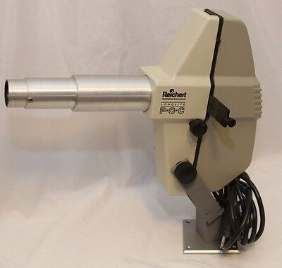 Reichert Longlife Chart Projector POC Project-O-Chart Ophthalmic Exam w/ mount