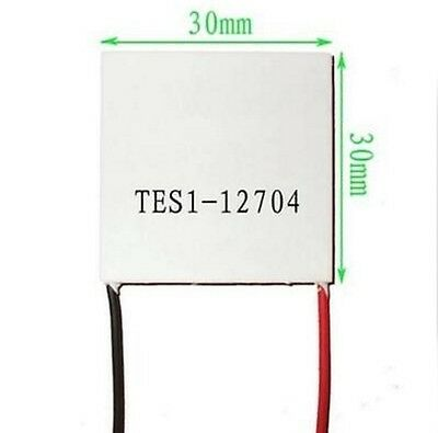 1PCS Slim TES1-12704 12V Heatsink TEC Thermoelectric Cooler Peltier 30mm*30mm