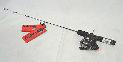 "Shakespeare Ugly Stik GX2 26"" Light Action Ice Fishing Combo Left or Right Hand"