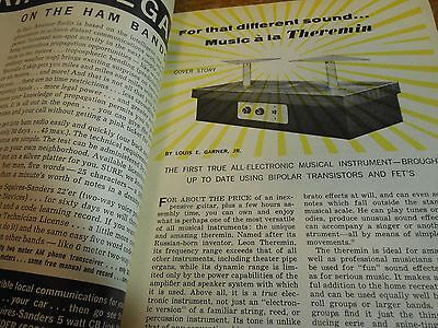 Build a Solid-State THEREMIN for Hi-Fi or Pro Audio use - 1967 magazine explains