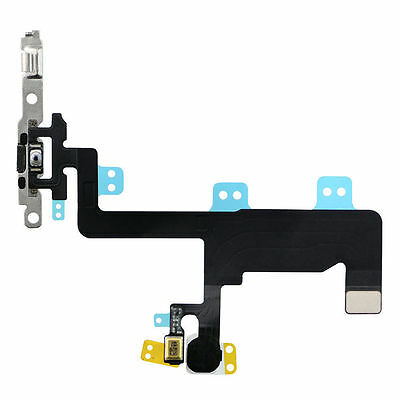 OEM Power On Off Control Button Switch Connector Flex Cable for iPhone 6 6G 4.7""