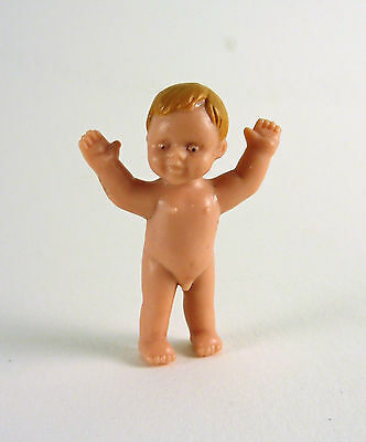 Dollhouse Miniature Baby Doll....standing up, G7606E