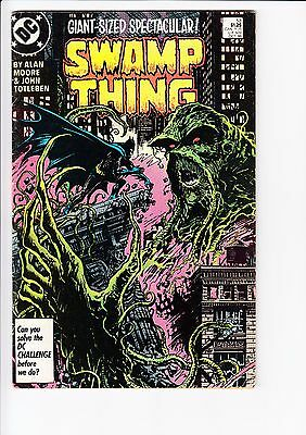 Swamp Thing #53 (1986, DC) VF-  Batman Alan Moore Arkham Asylum