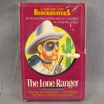 The Lone Ranger Journey to Adventure Tape Radio Show Cassette NEW Butch Cavendsh