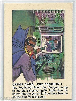 1966 Batman Weeties & Rice Krinkles The Penguin 1