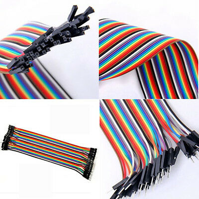 10/20/30cm 2.54mm 1P-1P jumper cable jumpers for Arduino optional Wire Dupont