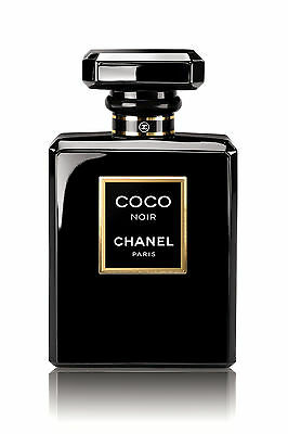 Chanel Coco Noir Black Perfume Bottle WALL ART CANVAS FRAMED OR POSTER PRINT