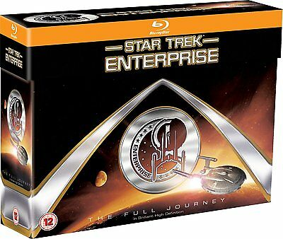 Star Trek Enterprise BOX Die komplette Serie 1-4 [Blu-ray] Deutscher Ton NEU OVP