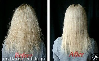Moroccan Brazilian Keratin Blow Dry Hair Treatment W/ After Care New Size Kit