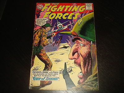 OUR FIGHTING FORCES #84  Silver Age War DC Comic 1964 FN-