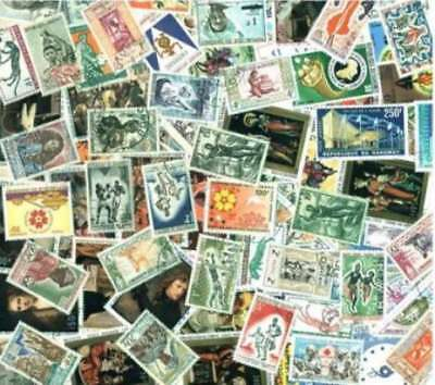 Dahomey Stamp Collection - 100 Different Stamps
