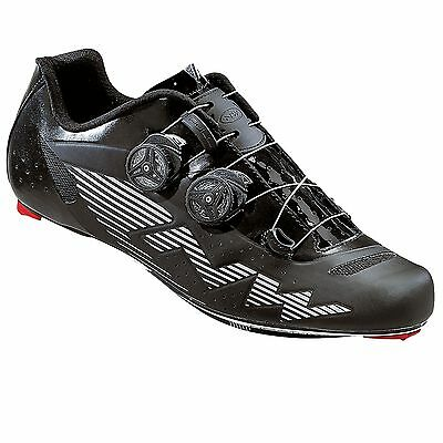 Northwave Evolution Plus Road Cycling / Cycle Bike Shoes - Reflective Black