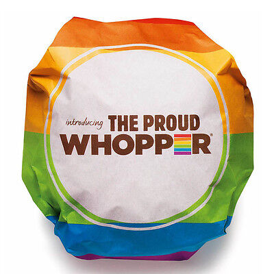 Proud Whopper  - Burger King's Gay Rights Wrapper
