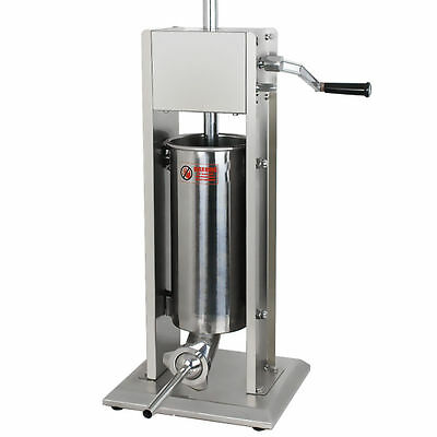 New Segawe Sausage Stuffer Vertical Stainless Steel 5L/11LB 11 Pound Meat Filler