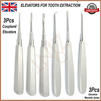 Dental Top Quality Warwick James Coupland Root Elevator Dental Implant New kit